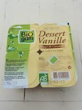 Flan vanille nappé caramel Bio de Lorraine X 4