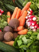 """Panier fruits et légumes mixte """"Famille"""""""