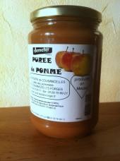 Purée de Pomme Bio Demeter 750g