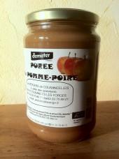 Purée Pomme-Poire Bio Demeter 750g