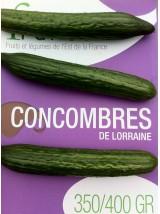 Concombre de Lorraine France- la pièce