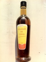 Vinaigre artisanal de Coing- 25cl