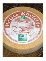 Fromage à raclette en tranches Bio de Savoie - barquette env 430g