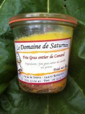 Foie gras de canard fermier entier cuit -190g