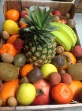Corbeille de fruits bio et de saison à offrir