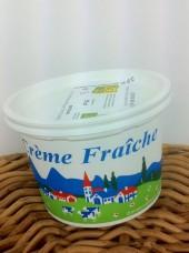 Crème fraîche épaisse Bio 50cl-Ferme Durr en Alsace