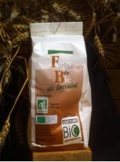 Farine de Blé Bio T65 de Lorraine - 1kg