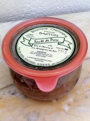 Sauté de porc aux champignons des Bois-900g