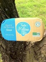 Beurre de Baratte doux Bio Tante Hélène -125g