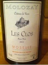 Pinot Noir 2015 Les Clos Château de Vaux-75cl