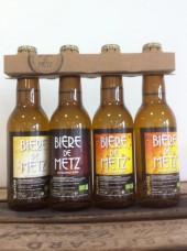"""Bière de Metz Bio """"pack de dégustation"""" - 4x 33cl"""