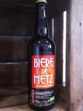 Bière de Metz Bio Ambrée au miel - 75cl