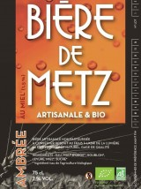 Bière de Metz Bio Ambrée - 75cl