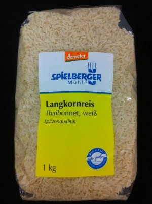 Riz blanc Bio Demeter - 1kg