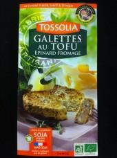 Galettes Bio de Tofu Epinard-Fromage - 2x90g