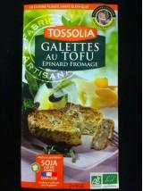 Galette de Tofu aux épinards et fromage - 2x90g