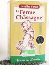 Lentilles vertes Bio Ferme de Chassagne-500g