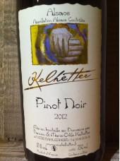 Pinot Noir  - Cave Kelhetter en Alsace