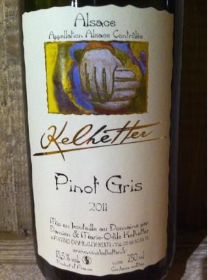 Pinot Gris d'Alsace - Domaine Kelhetter