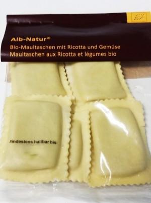 Raviolis Maultaschen frais Ricotta et légumes Bio -280g