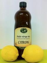 Huile de Colza Bio au  Citron de la ferme -25cl