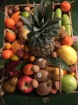 Corbeille de fruits Bio réveillon Noël