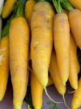 Carottes jaunes lavées Bio d'Alsace France - 500g