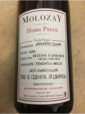 Vin blanc Bio de Moselle Aparecium Château de Vaux-75cl