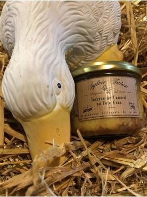 Terrine de canard avec 30% de foie gras-180g