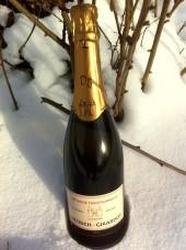 """Vin méthode traditionnelle rosé """"la vicoise"""""""