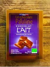 Chocolat Bio au lait-100g