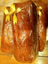 Pain d'épices Bio écorces d'orange et glaçage choco Noir- 350g