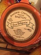 Sauce bolognaise Boucherie Baston -460g