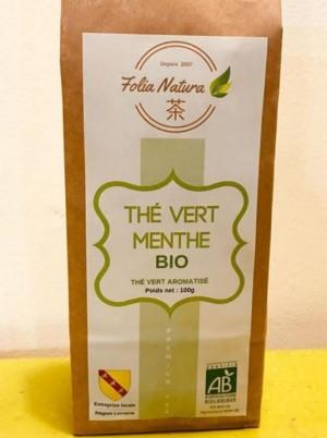 Thé vert Bio au jasmin Bio -100g