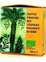 Dattes Fraîches Mazafati Bio d'Iran- paquet de 250g