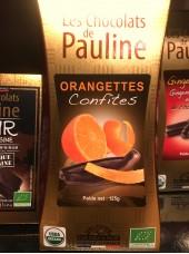 Orangettes confites enrobées de chocolat noir Bio -125g