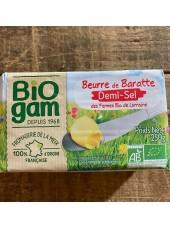 Beurre 1/2 sel Bio de Lorraine-250g