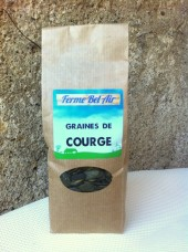 Graines de courge Bio nature 250g