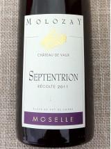 Vin blanc de Moselle Septentrion Château de Vaux-75cl