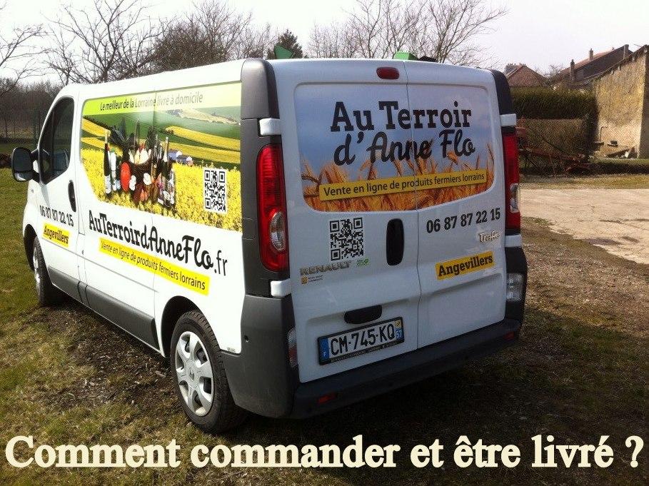 Le secret d'une livraison réussie : axe Metz-Thionville-Luxembourg-Val de Fensch- Pays Haut