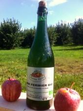 Cidre Doux fermier Bio d'Alsace -75cl