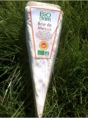 Brie de Meaux Bio -portion 170g