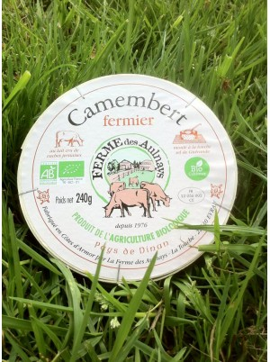 Camembert Bio fermier Aulnays -240g