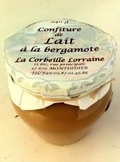 Confiture de lait à la Bergamote 240g