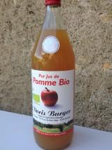 Pur jus de Pomme Bio d'Alsace non filtré- 1L