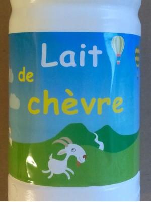 Lait de chèvre stérélisé Bio d'Ardèche France - 75cl