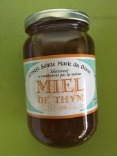 Miel de Thym Sélection Abbaye - origine Espagne 500g