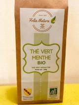 Thé vert Bio à la menthe -100g