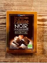 Chocolat Noir Bio 70% de cacao aux éclats de noisettes-100g