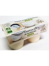 Yaourt nature au lait de brebis Bio Ferme du Causse- 2x125g